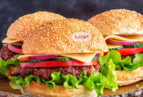 در وصف همبرگر!