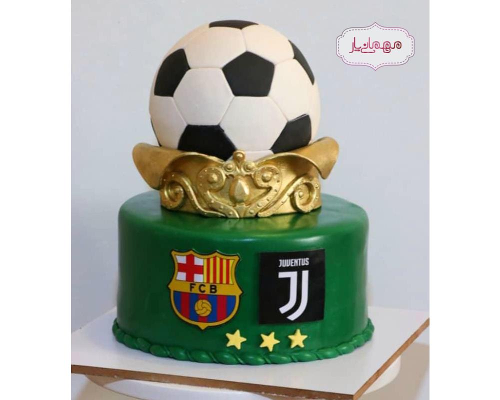 کیک فوتبالی