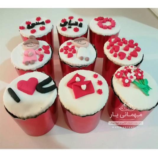 کاپ کیک عاشقانه
