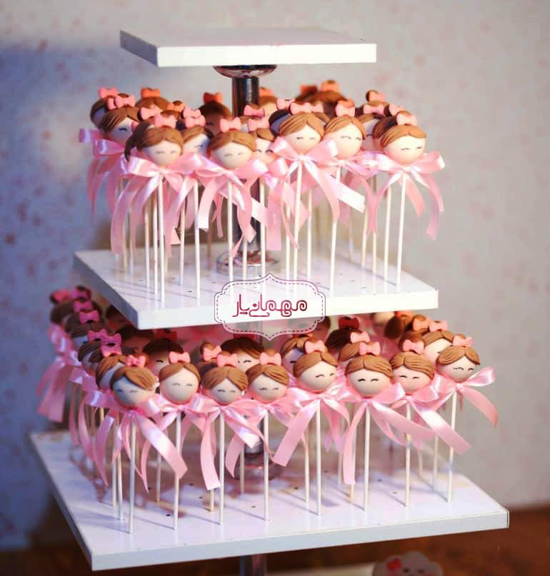 پاپس کیک عروسکی