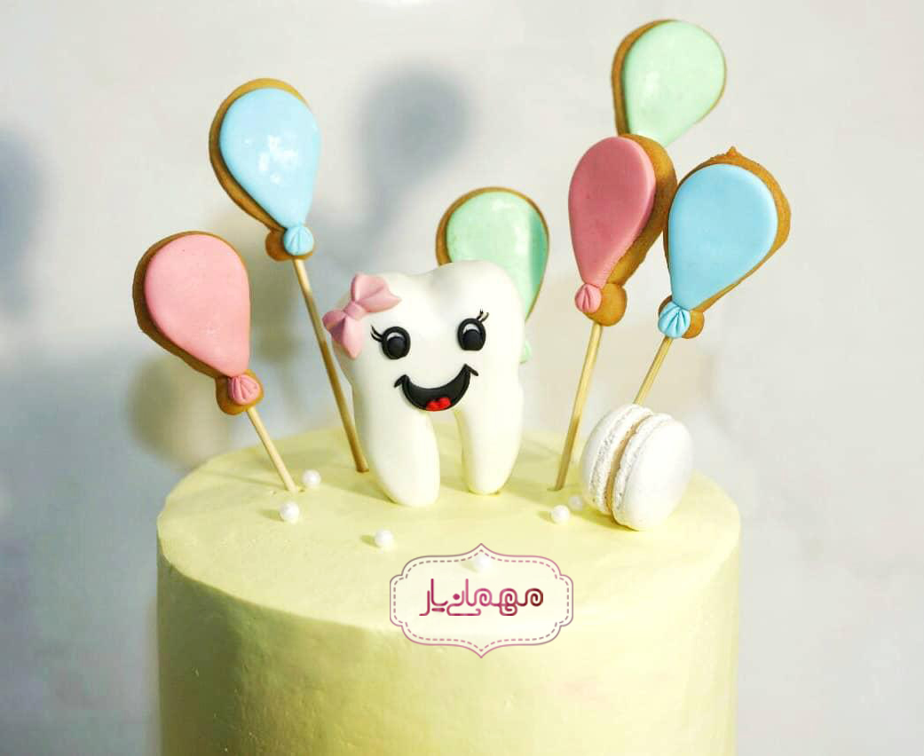 کیک جشن دندونی