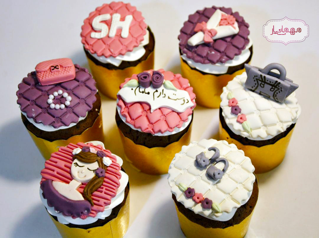 کاپ کیک روز مادر