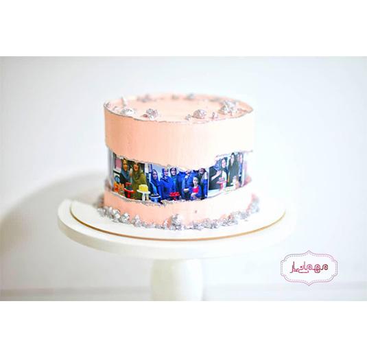 کیک تصویری جدید
