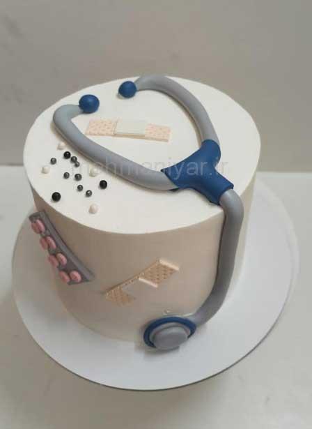 کیک پزشک مردانه