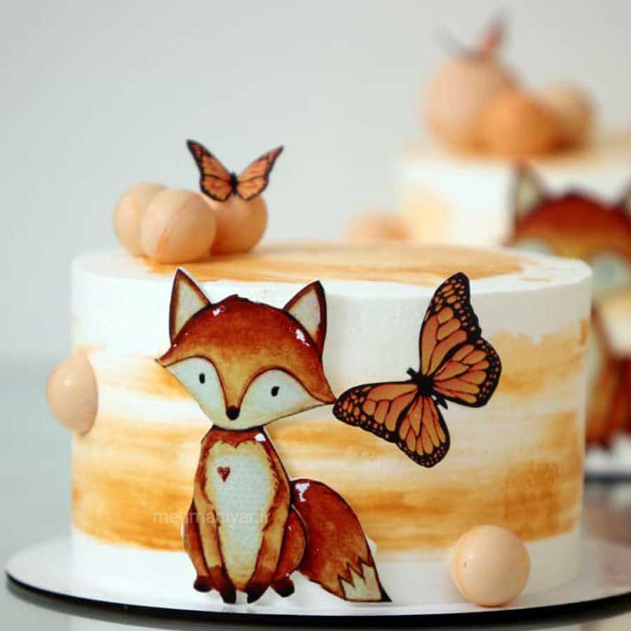 کیک روباه کوچولو