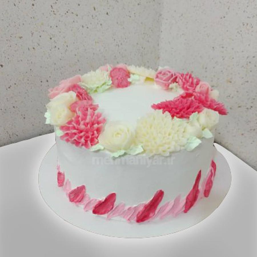 کیک گل کوکب