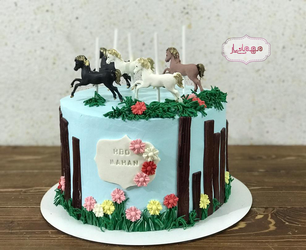 کیک اسبهای جنگل