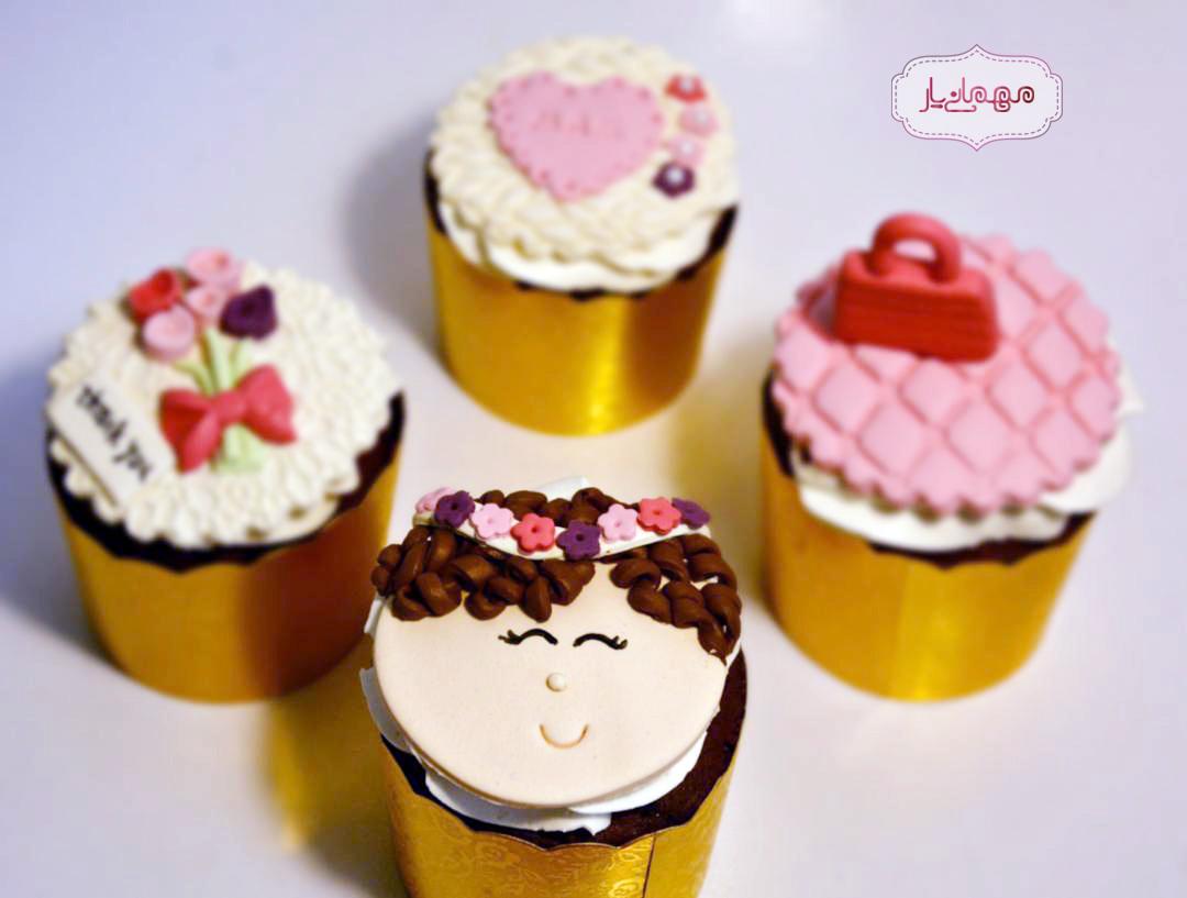 کاپ کیک دختر شاداب