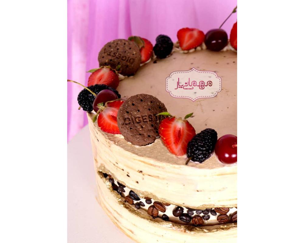 کیک نسکافه ای