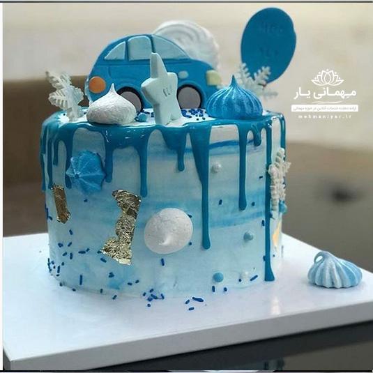 کیک ماشین آبرنگی