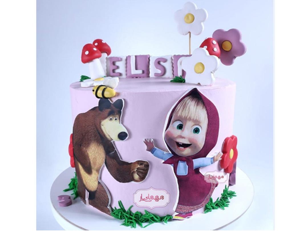 کیک ماشا و میشا