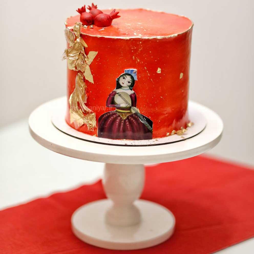 کیک سنتی یلدایی