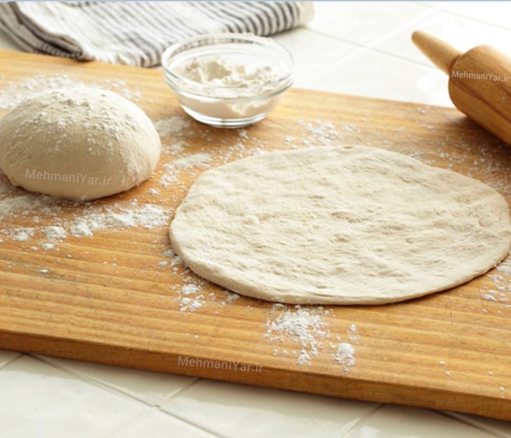 طرز تهیه خمیر نان پیتزا