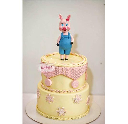 کیک خوک بامزه