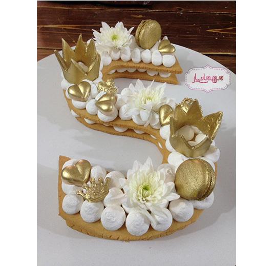 بیسکو کیک طلایی