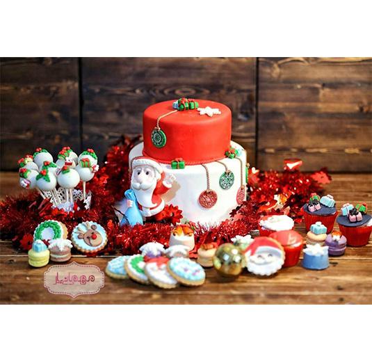 میز تولد کریسمس