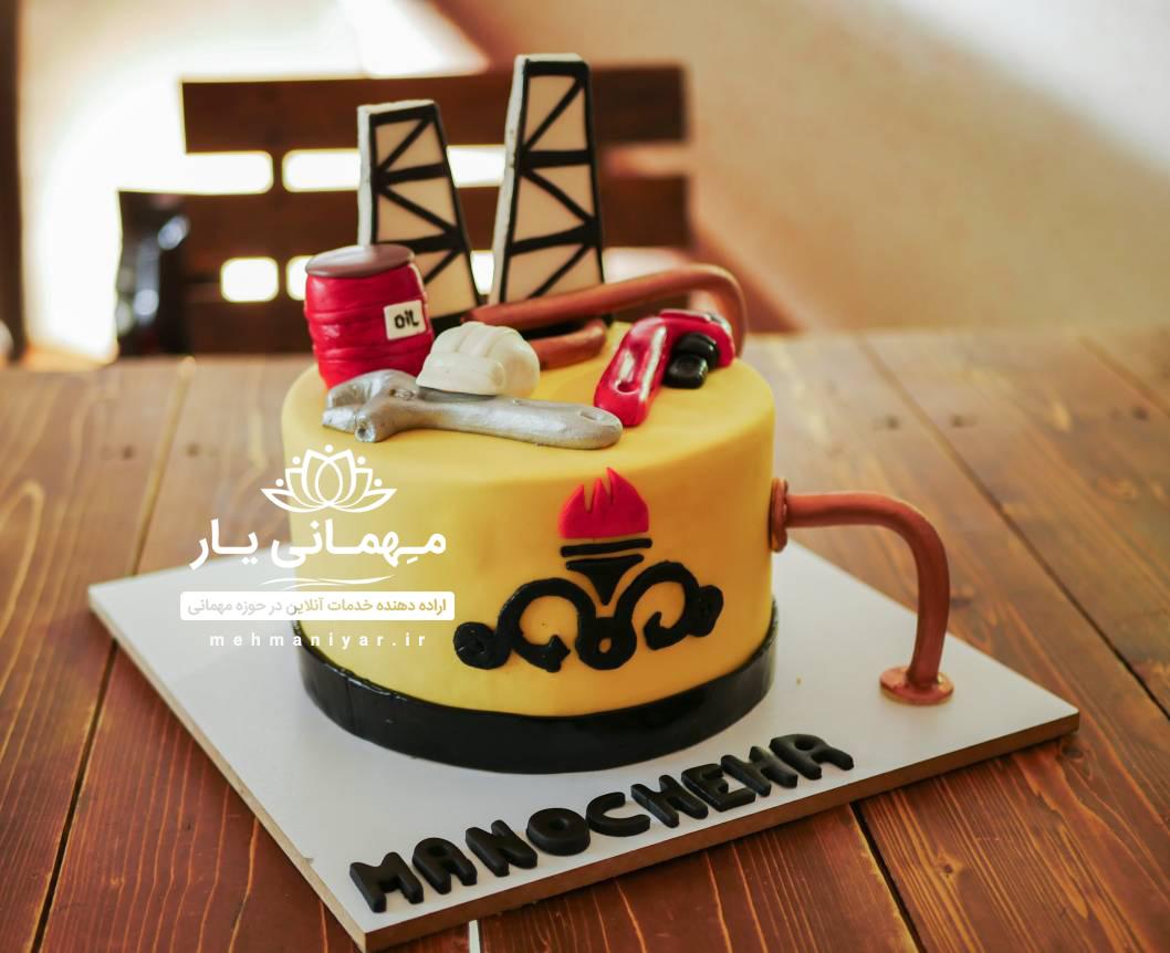 کیک مهندسی نفت