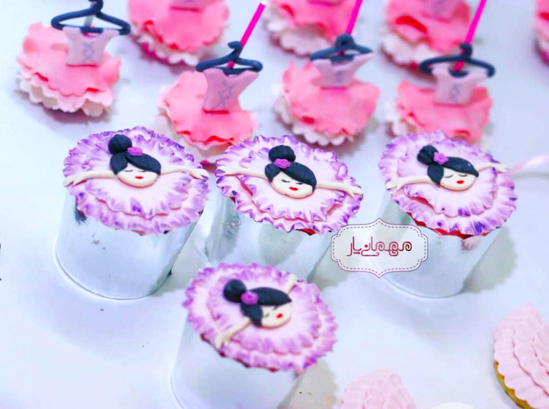 کاپ کیک دخترونه «مهسا»