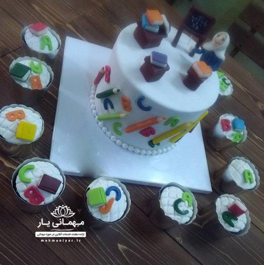 کیک معلم