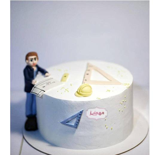 کیک مهندس نقشه کش