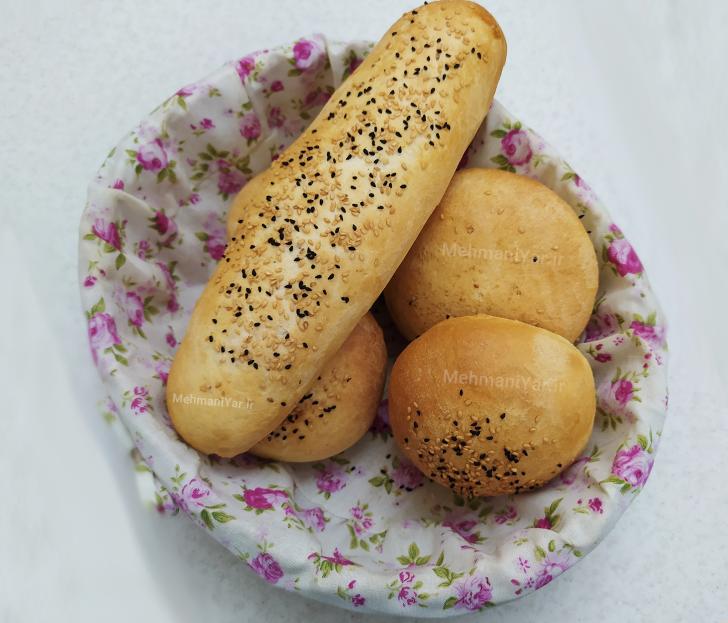 فیلم طرز تهیه نان باگت فرانسوی خانگی