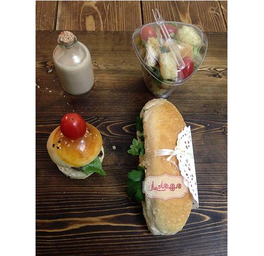 بسته پذیرایی ناهار «1»