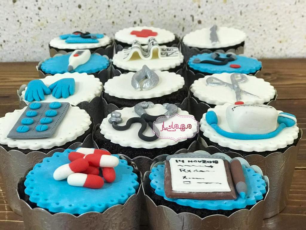 کاپ کیک پزشکی