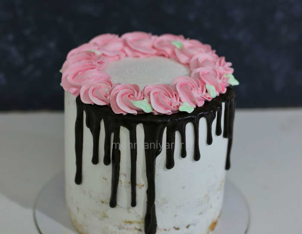 کیک رزت صورتی
