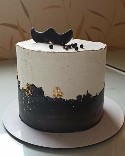 کیک مردانه ساده