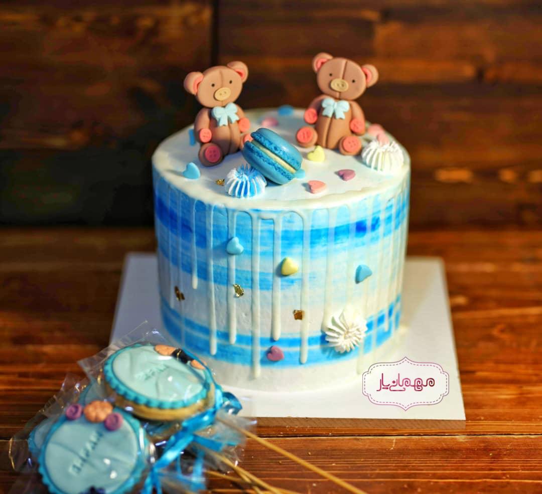کیک تدی بِر