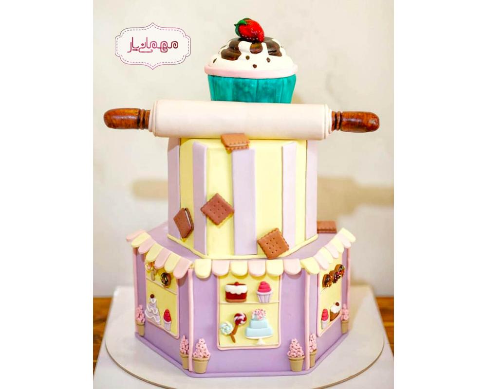 کیک قنادباشی