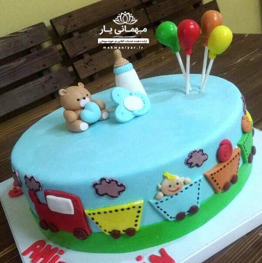 کیک تولد کودک