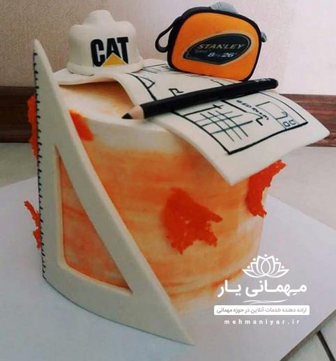 کیک مهندسی معماری