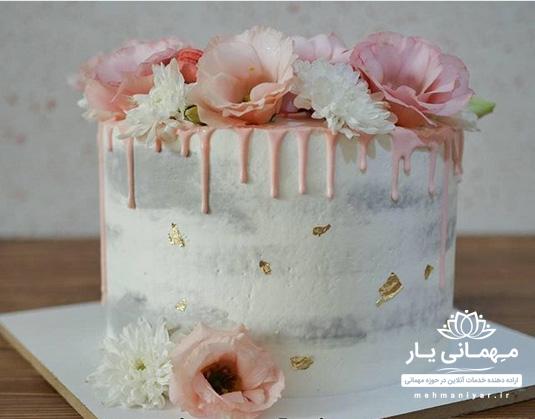 کیک خامه ای مدرن