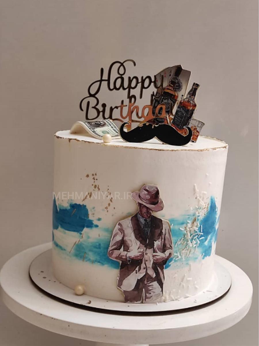 کیک جنتلمن