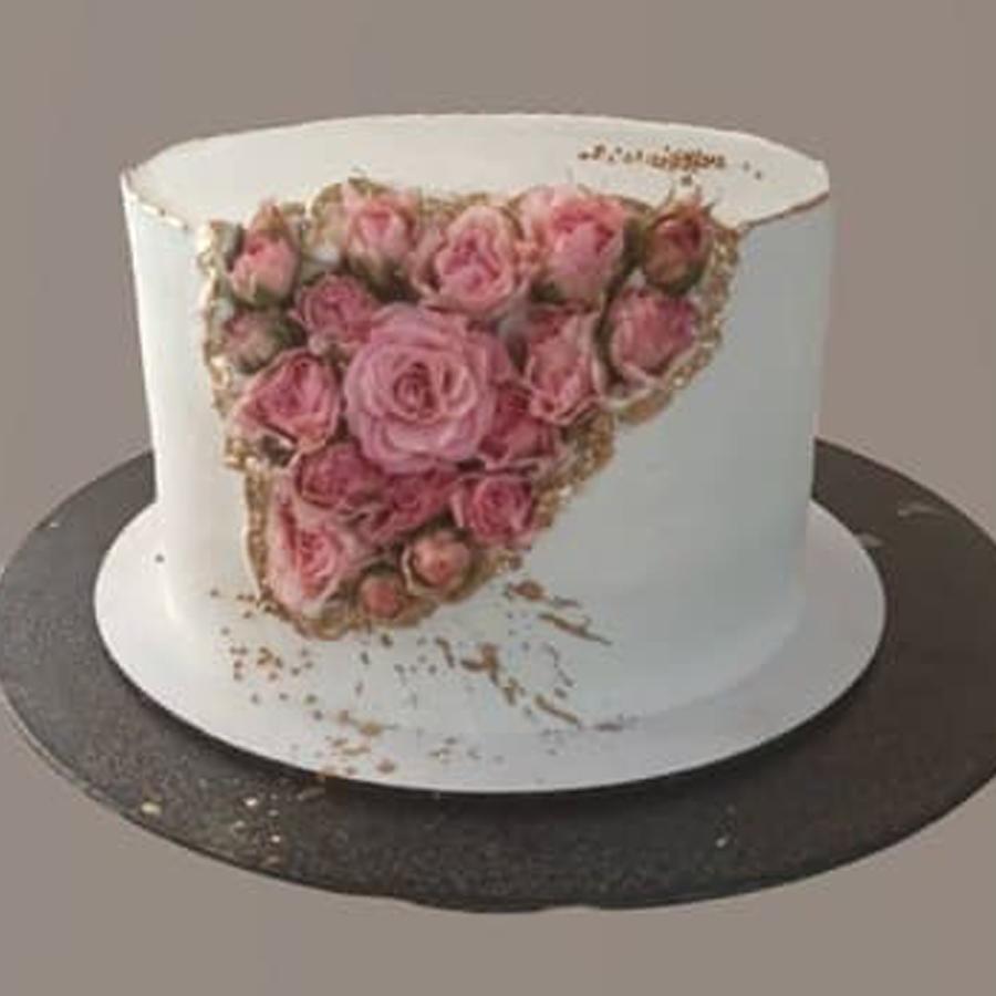 کیک رز مینیاتوری
