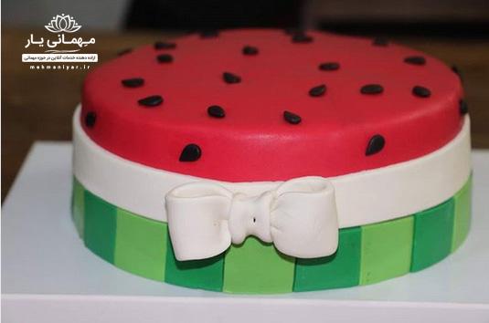 کیک هندوانهای