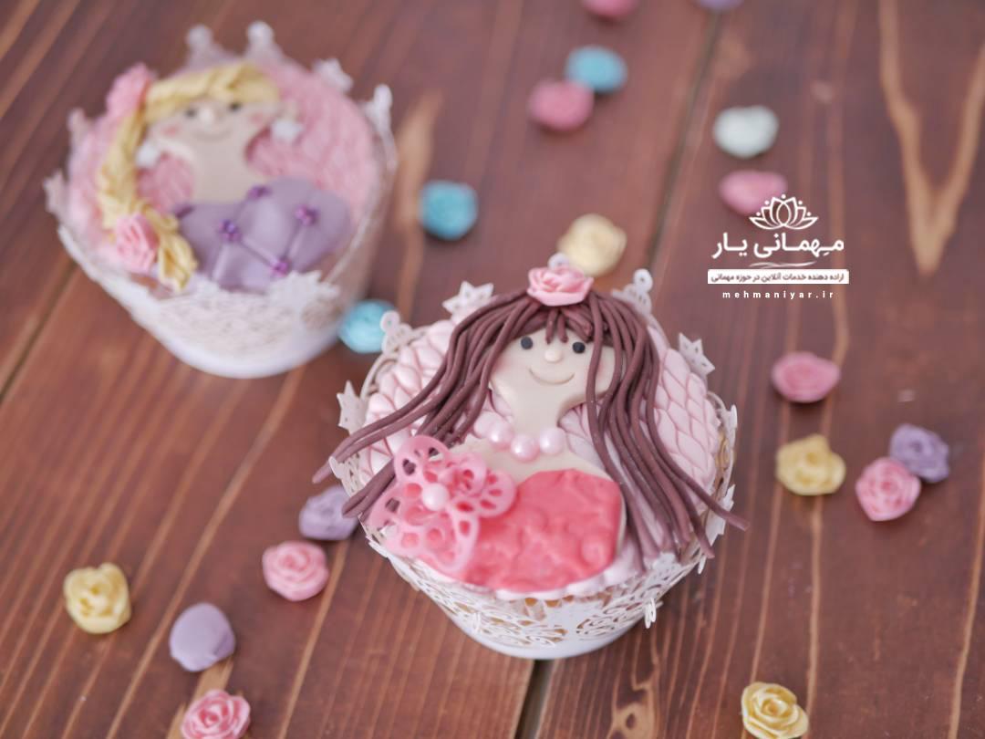 کاپ کیک دخترونه