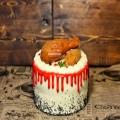 کیک مرغ مدرن (رویال فود)